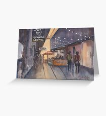 QV Centre Melbourne Greeting Card