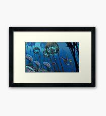 The Grand Reefs Framed Print