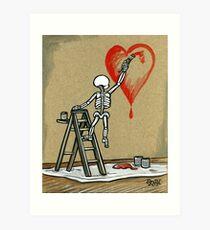 Paint The Love Art Print