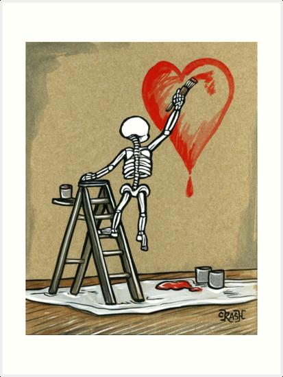 Malen Sie die Liebe von crashartaustin