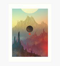 The Cosmic Daydream Art Print