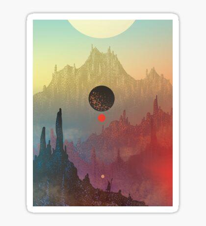 The Cosmic Daydream Sticker
