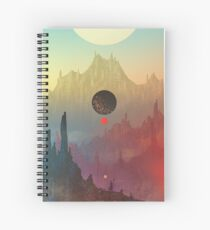 The Cosmic Daydream Spiral Notebook