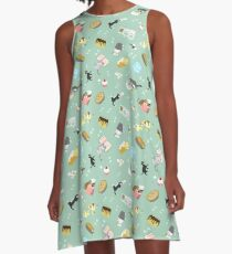 Cats Baking Cakes and other Sweets A-Line Dress
