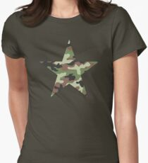 Camouflage Military Star T-Shirt