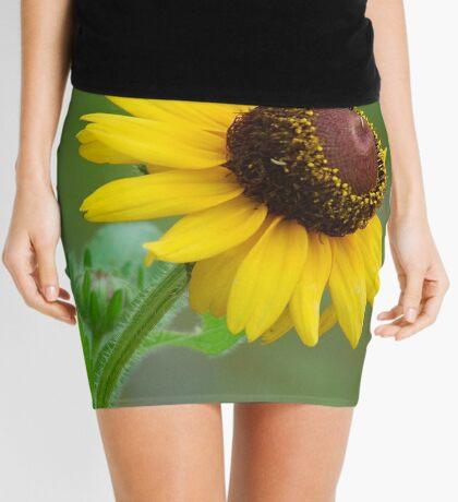 YELLOW SIMPLICITY -  EENVOUD IN GEEL Mini Skirt