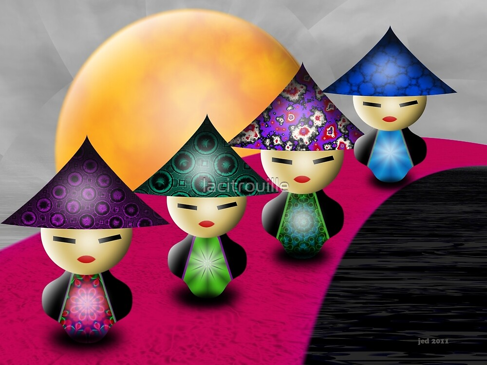 Inner Child - Little China Dolls by lacitrouille