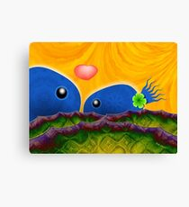 Inner Child - Lovers in the Psychedelic Sea Canvas Print