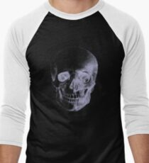 Skull X-Ray  Men's Baseball ¾ T-Shirt