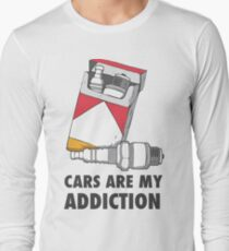 Cars are my addiction Long Sleeve T-Shirt