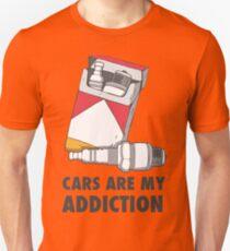 Cars are my addiction Unisex T-Shirt