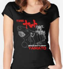 STAR BLAZERS YAMATO Women's Fitted Scoop T-Shirt