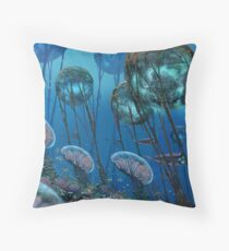 The Grand Reefs Throw Pillow