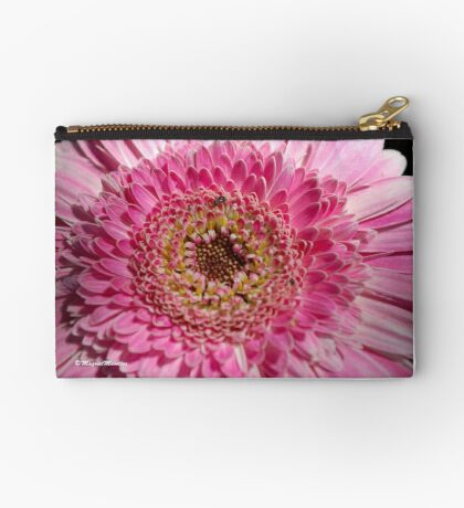 ALL IN PINK, UP CLOSE - GERBERA Studio Pouch
