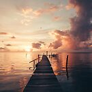 Belize Sunrise by Rae Marie Threnoworth