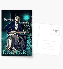 Peter Capaldi Is My Doctor Postcards