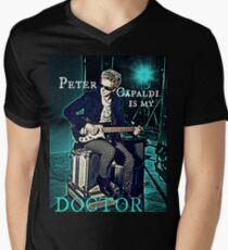 Peter Capaldi Is My Doctor Men's V-Neck T-Shirt