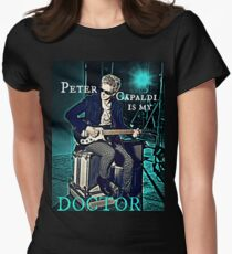 Peter Capaldi Is My Doctor Women's Fitted T-Shirt