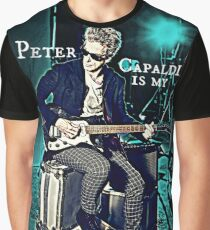 Peter Capaldi Is My Doctor Graphic T-Shirt