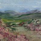 Moorland 4 by Carol Rowland