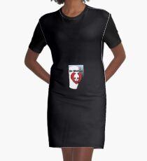 Dr. Barbosa Schädel Liebe T-Shirt Kleid