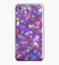 Purple Glitter iPhone Case/Skin