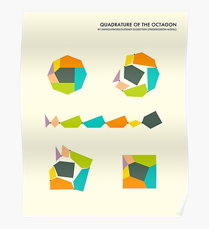 QUADRATURE OF THE OCTAGON Poster