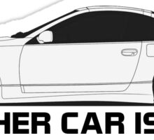 My Other Car is a z32 Sticker