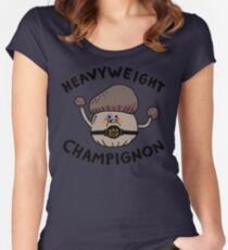 Heavyweight Champignon Women's Fitted Scoop T-Shirt