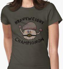 Heavyweight Champignon Women's Fitted T-Shirt