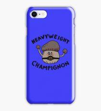 Heavyweight Champignon iPhone Case/Skin