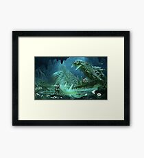 Exploring the Lost River Framed Print