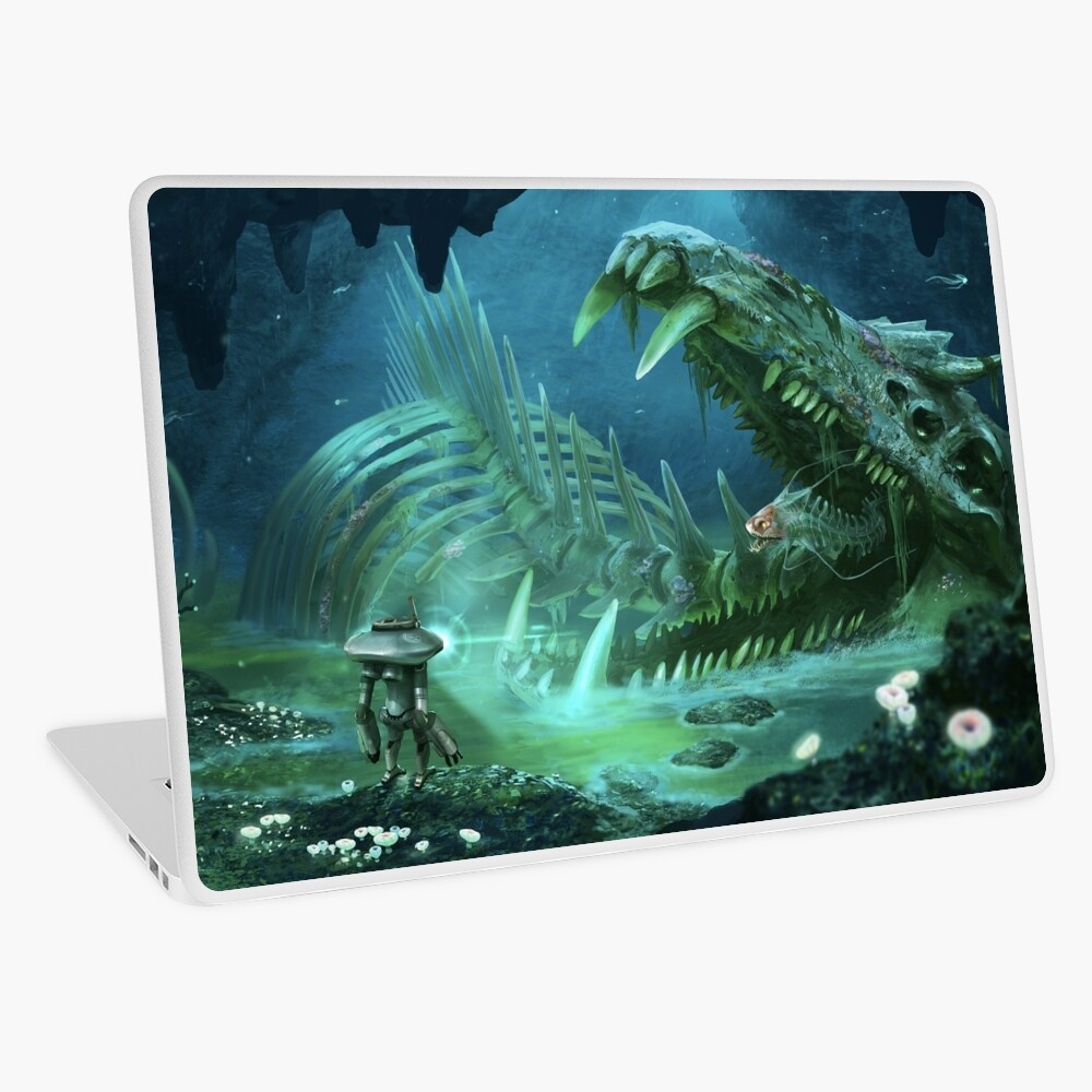 Exploring the Lost River Laptop Skin