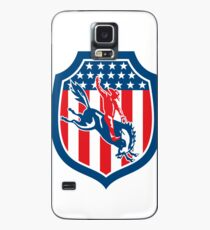American Rodeo Cowboy Riding Bucking Bronco Case/Skin for Samsung Galaxy