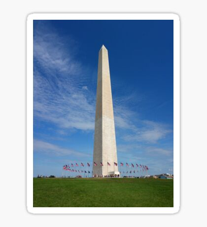 Washington Monument Sticker
