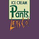 Ice cream pants, lets go! Logo by Matt Redmond