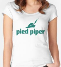 Pied Piper - Helping Humanity Thrive Women's Fitted Scoop T-Shirt