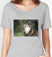Dog Portrait Women's Relaxed Fit T-Shirt