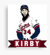 Kirby Puckett - Air Puckett Canvas Print