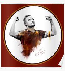 Francesco Totti - King of Rome Poster