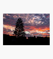 Electric Skies Photographic Print