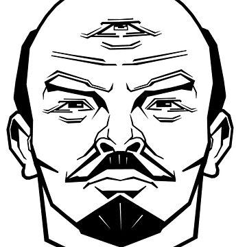 Enlightened Lenin by Tag-Ink