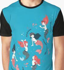 Tattooed Mermaids  Graphic T-Shirt