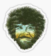 Happy Trees Sticker