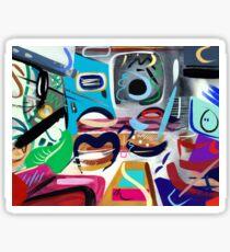 Abstract Interior #33 Sticker