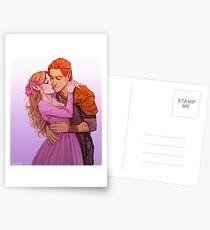 Lucien und Elain Postkarten