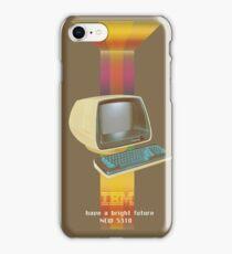 ibm old vintage advertise iPhone Case/Skin