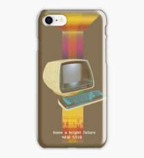 ibm old vintage advertise iPhone Case/Skin