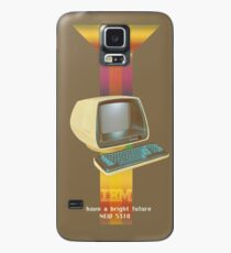 ibm old vintage advertise Case/Skin for Samsung Galaxy