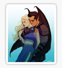 Morrigan and Azriel Sticker